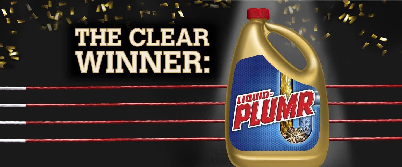 The clear winner: Liquid-Plumr.