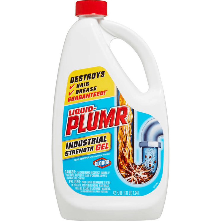 Liquid Plumr Industrial Strength Gel Drain Cleaner