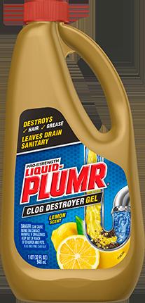 Clog Destroyer Gel with Lemon Scent