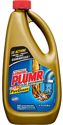 Liquid Plumr Industrial Strength Gel Drain Cleaner